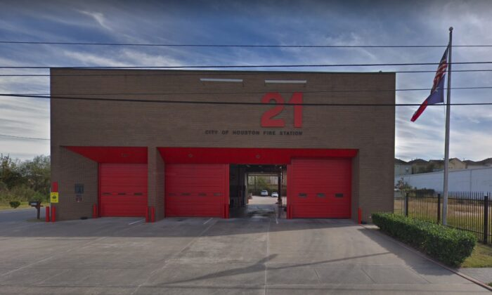 A newborn was dropped off at Fire Station 21 in Houston, Texas, on Oct. 8, 2019. (Google Maps)