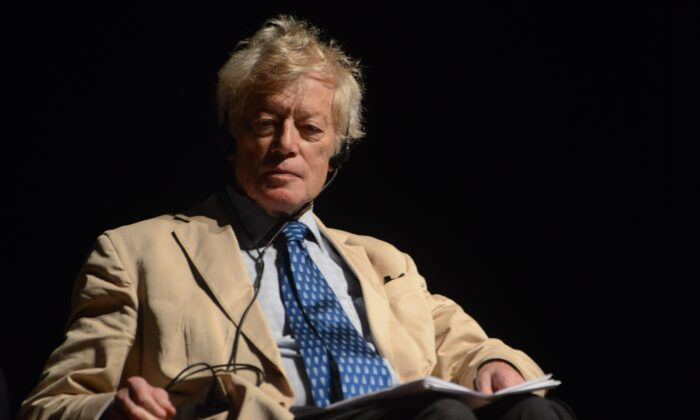 English philosopher Roger Scruton in a file photo. (Fronteiras do Pensamento/CC BY 2.0)