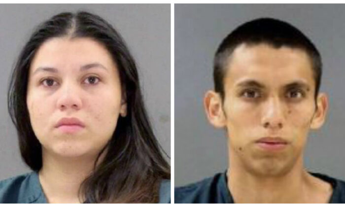 Brenda Argueta, 20 (L), and Ronald Mendez-Sosa, 21, pleaded guilty to being involved with murders committed by the MS-13 gang that involved beheadings. (Anne Arundel Police Department)