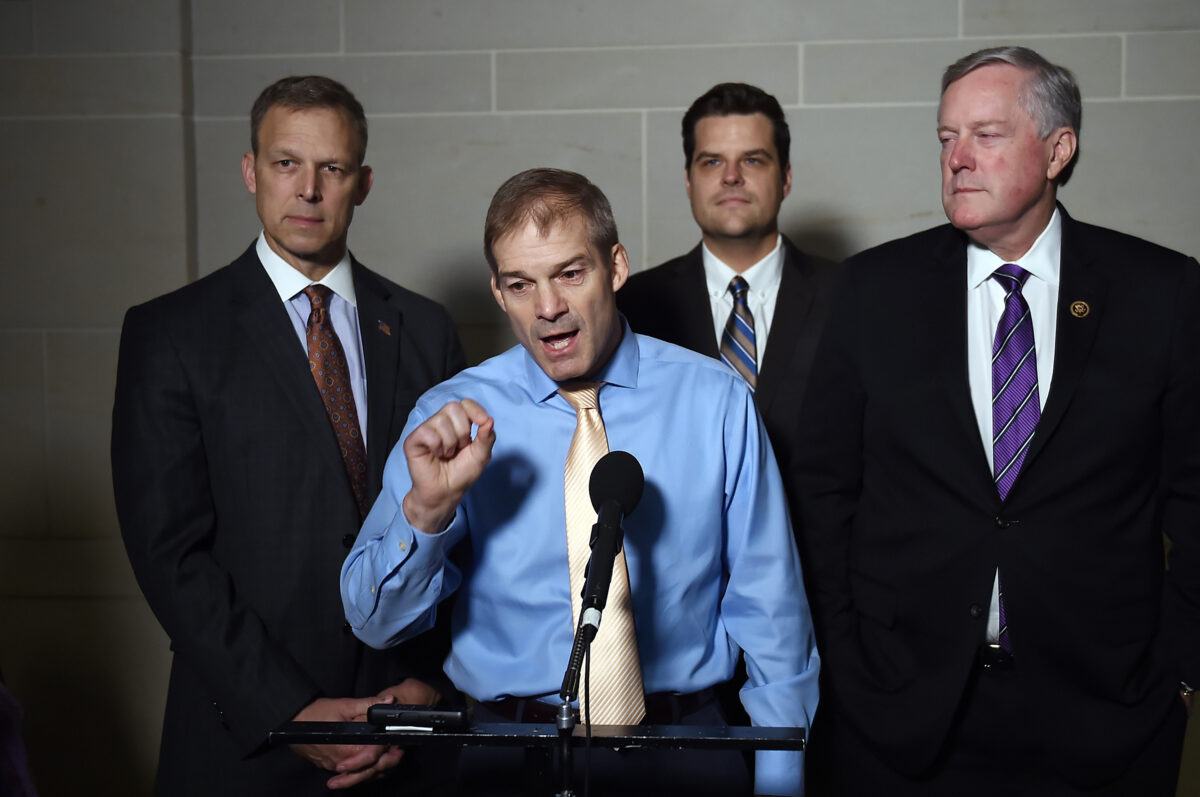 Jim Jordan: Republicans Want to Subpoena Whistleblower to Testify in Public Hearing