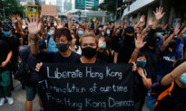 Hong Kong Protesters Gather Outside High Court to Show Support for Detained Activist