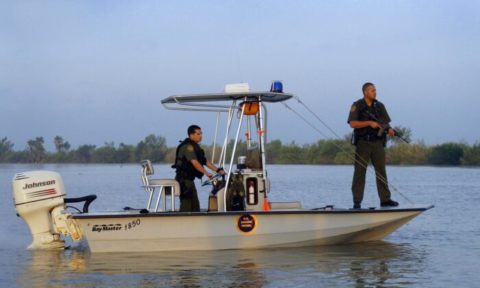 U.S. Border Patrol Marine Units patrol the waterways of our Nation's borders. (Photo: U.S. Customs and Border Protection)