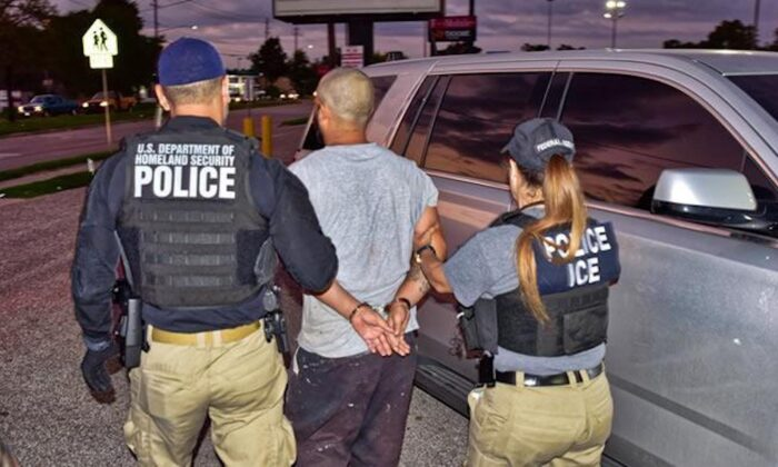 Cesar Diaz-Rodriguez, 30, was arrested by ICE officers in Houston, Texas, on Oct. 8, 2019. (U.S. Immigration And Customs Enforcement)