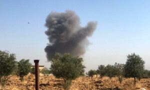 Unidentified Aircraft Strikes Iran-Backed Group in Syria, 8 Dead: Rights Group
