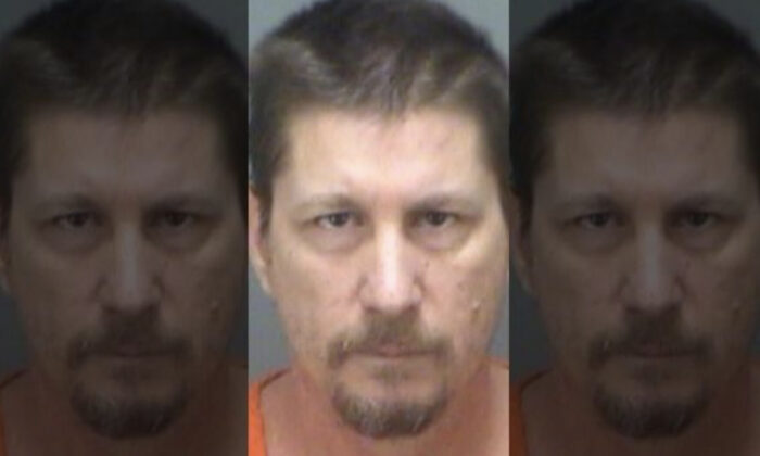Michael Drejka, 48, of Clearwater, Fla., was sentenced to 20 years in prison on Thursday. (Pinellas County Sheriff's Office)