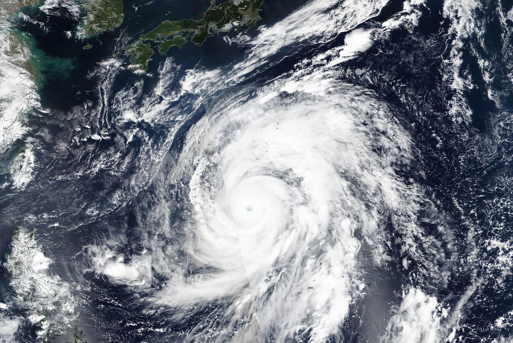 Japan Asia Typhoon