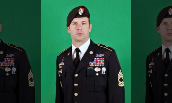 """Army Master Sgt. Matthew O. Williams will receive the Medal of Honor for his actions during a 2008 battle in Afghanistan described by a fellow soldier as an """"onslaught of fire and explosions."""" (U.S. Army )"""