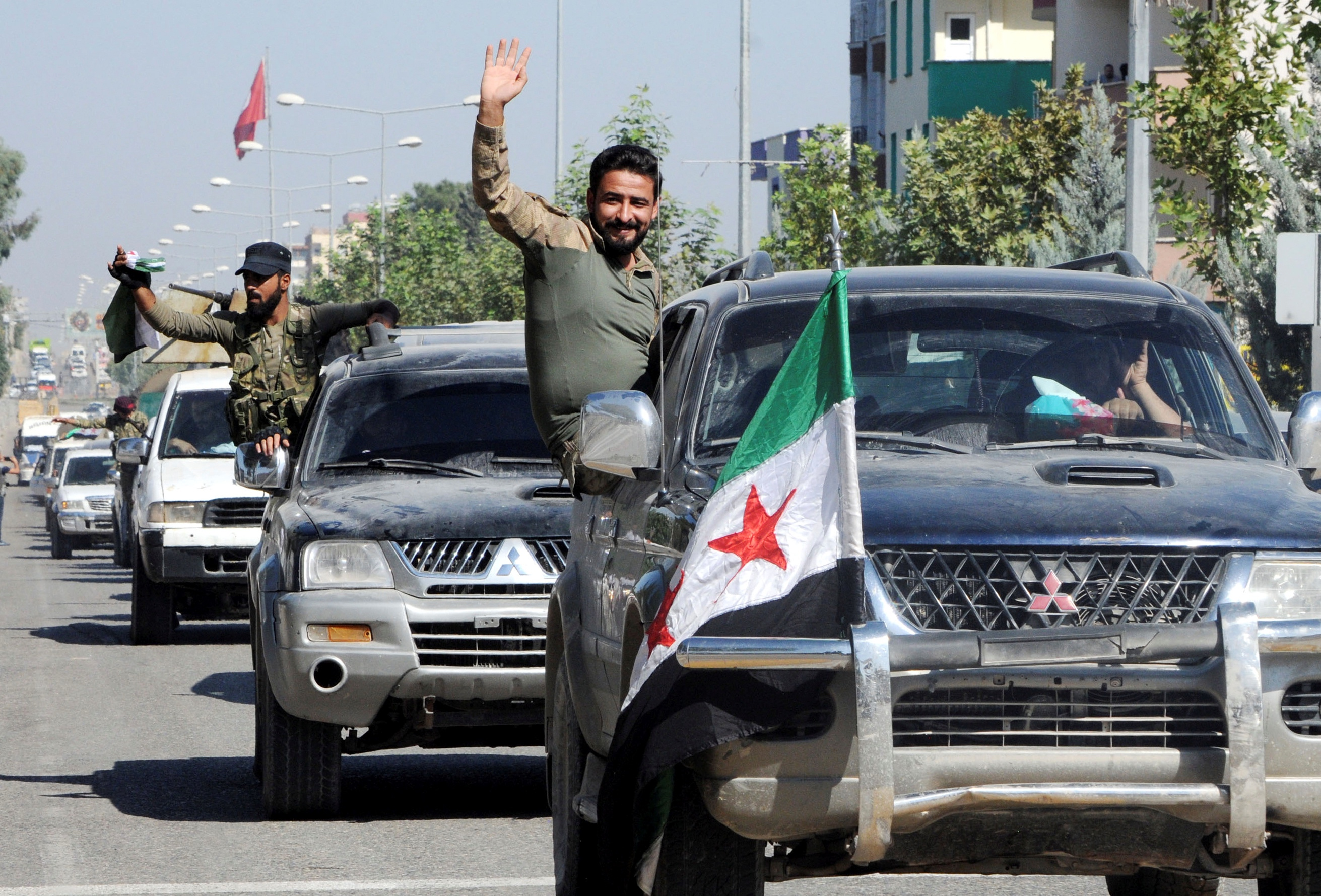 Members of Syrian National Army