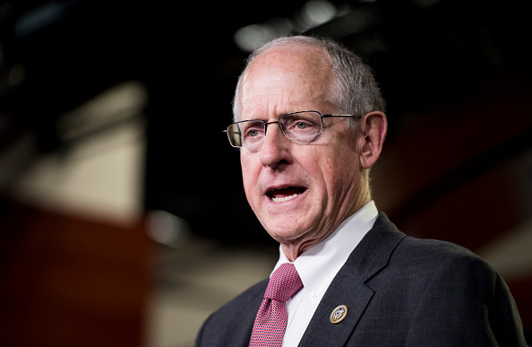 UNITED STATES - MAY 16: House Agriculture Committee chairman Mike Conaway, R-Texas, speaks during the House GOP press conference in the Capitol following the House Republican Conference meeting on Wednesday, May 16, 2018. (Photo By Bill Clark/CQ Roll Call)