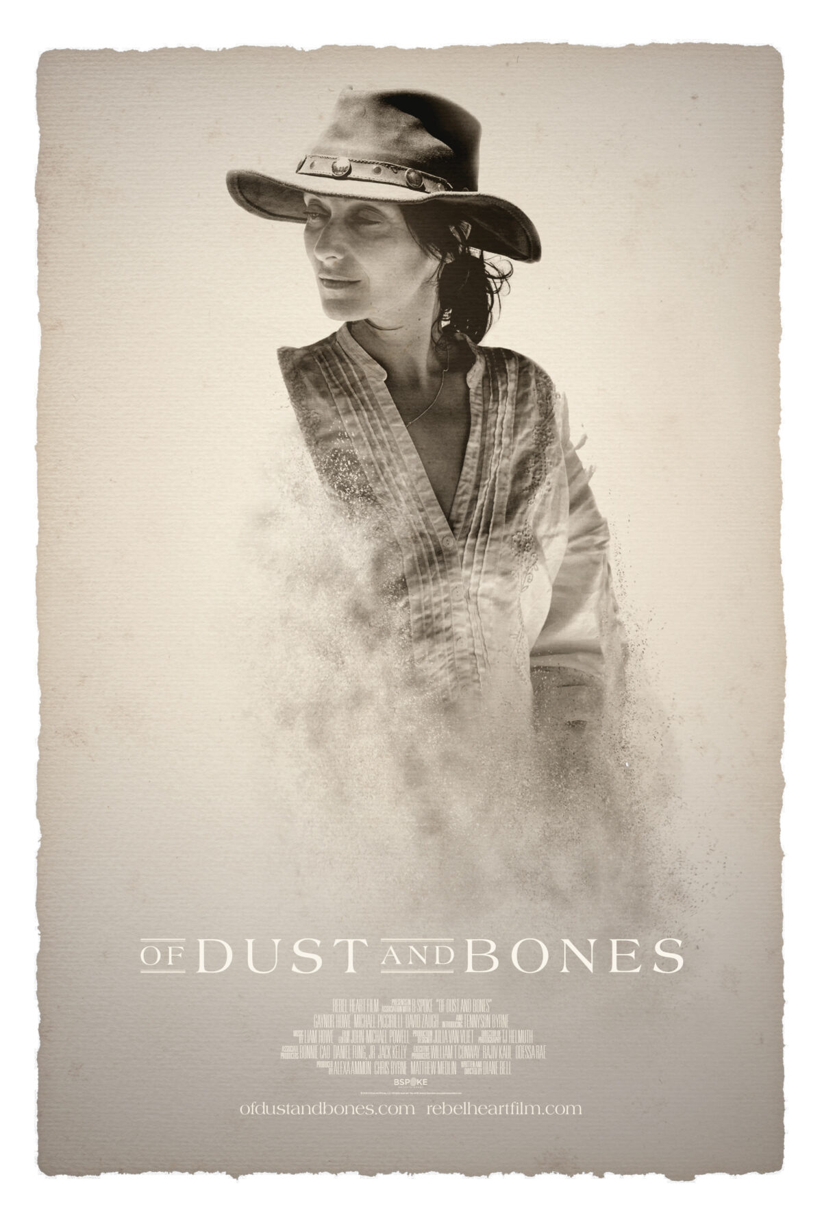 "The poster for the 2016 film ""Of Dust and Bones,"