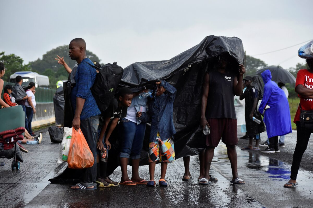 migrants caravan mexico