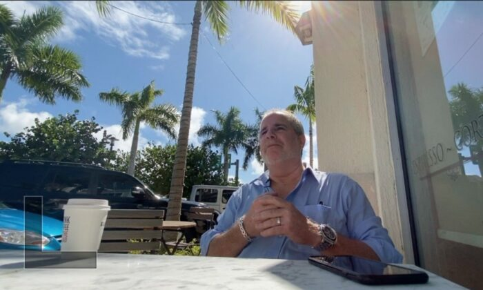 Real estate agent Andrew Levy paid off school lunch debt for schools in his area after a social media plea. (WPTV)