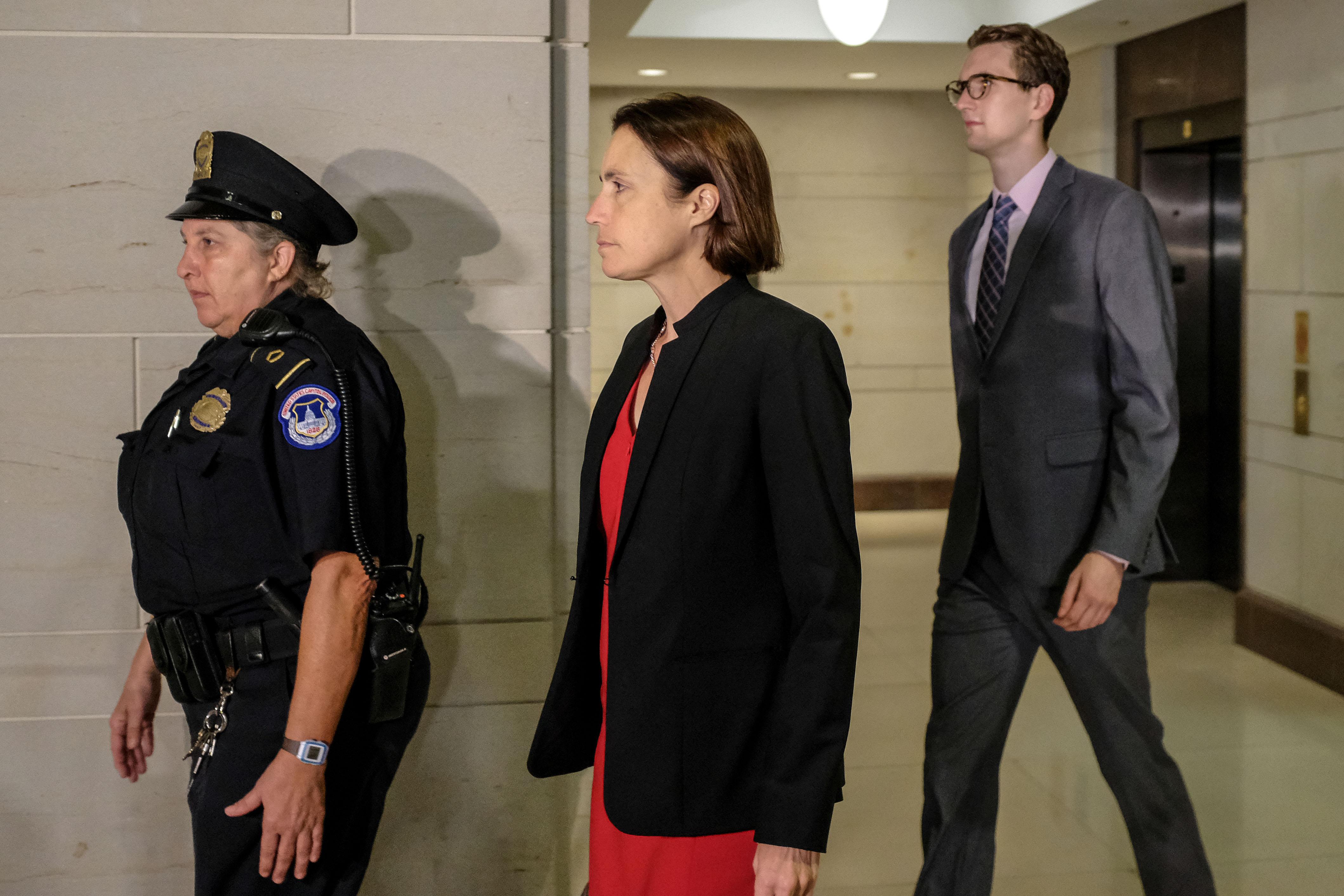 Trump's Former Russia Advisor Testifies in Democrat-Run Impeachment Inquiry