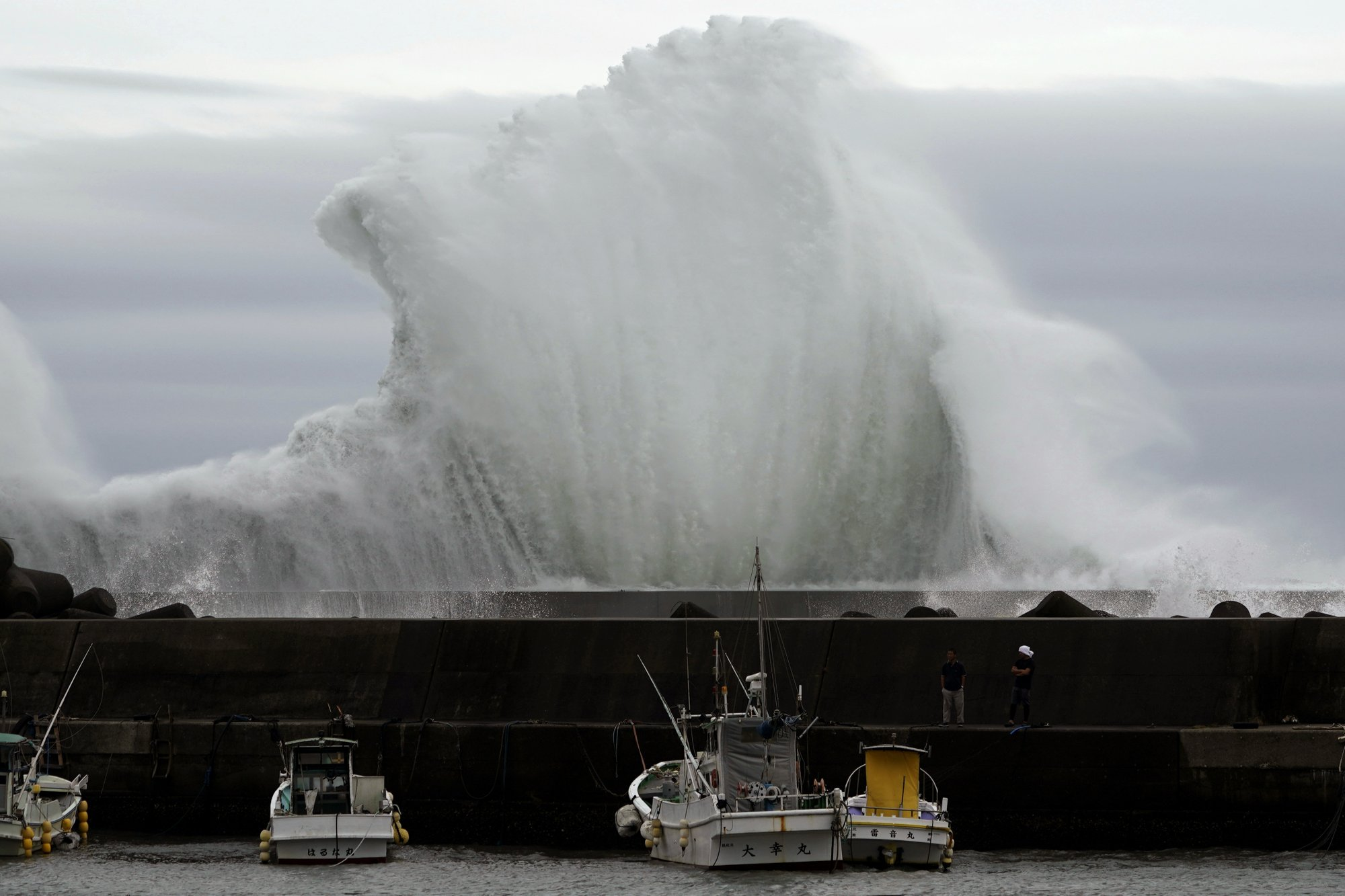waves in japan