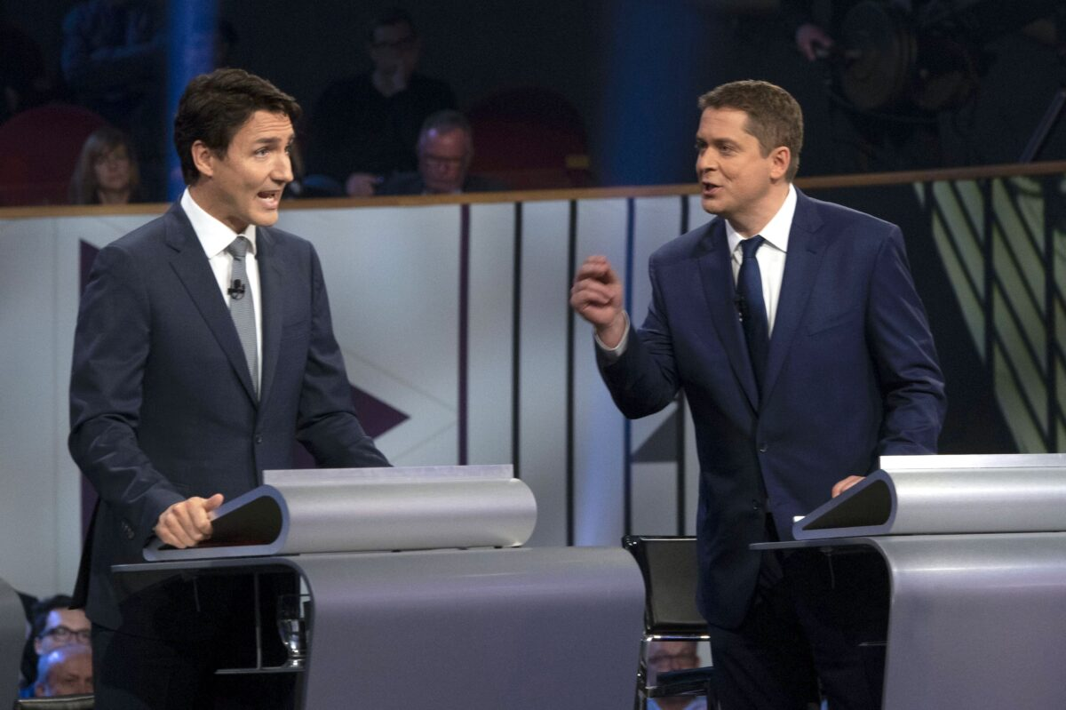 Trudeau Plays Defence in Maritimes While Scheer Fights for Seats in Quebec