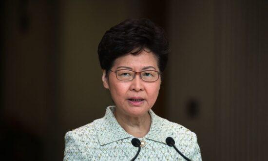 Hong Kong Leader Denounces Visiting US Officials for 'Bias' Views of Protests