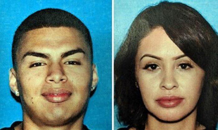 Esteban Lopez (L) and Liliana Lopez. (Los Angeles Police Department)