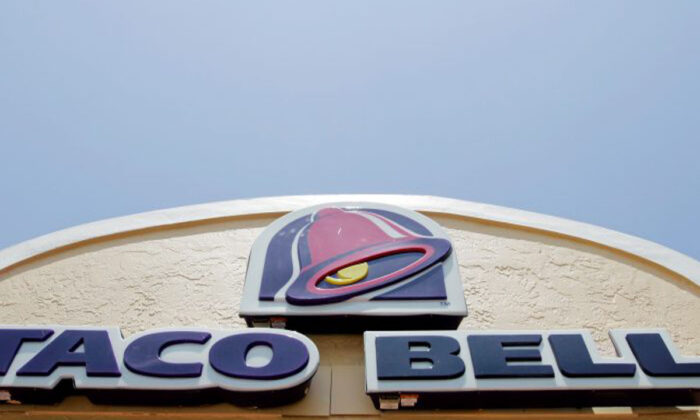 A Taco Bell restaurant in Lantana, Fla. Taco Bell has recalled over 2 million pounds of seasoned beef due to fears over metal contamination on Oct. 14. (AP Photo/Alan Diaz, file)