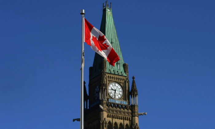 The Peace Tower is pictured on Parliament Hill in a file photo. (The Canadian Press/Sean Kilpatrick)