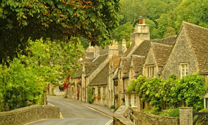 Castle Combe is the prettiest village in England, according to a British public-opinion survey. (Fred J. Eckert)
