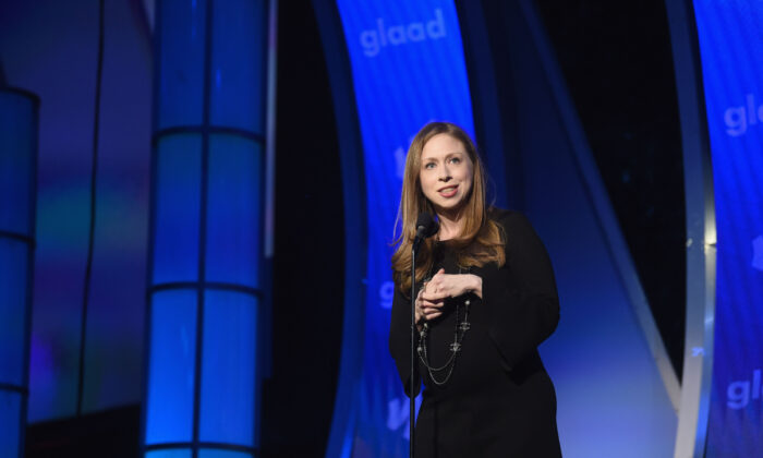 Chelsea Clinton in a file photo. (Photo by Jamie McCarthy/Getty Images for GLAAD)