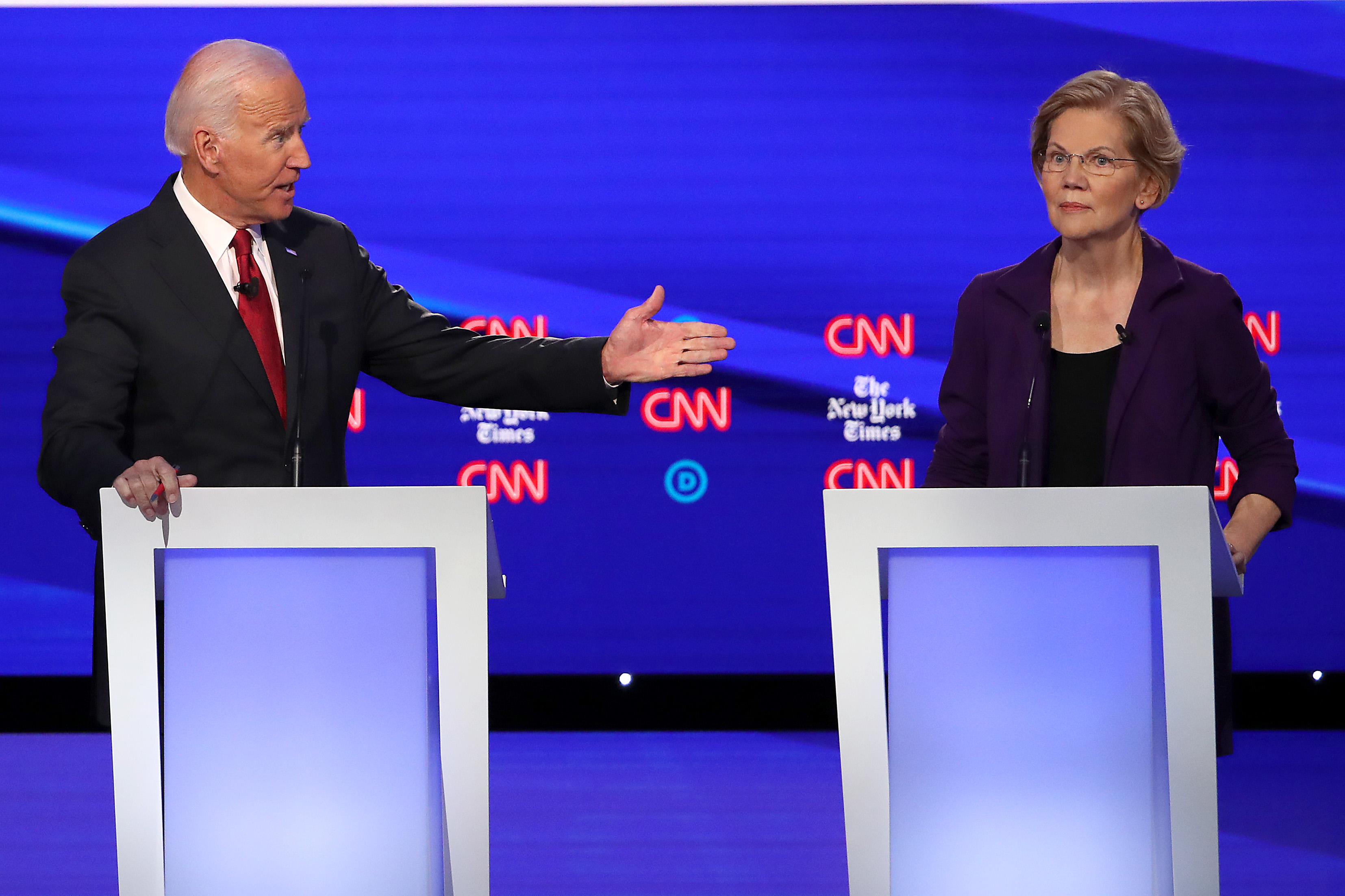 Democrat Presidential Candidates Debate On: 'Who Has Ever Gotten Anything Really Big Done'