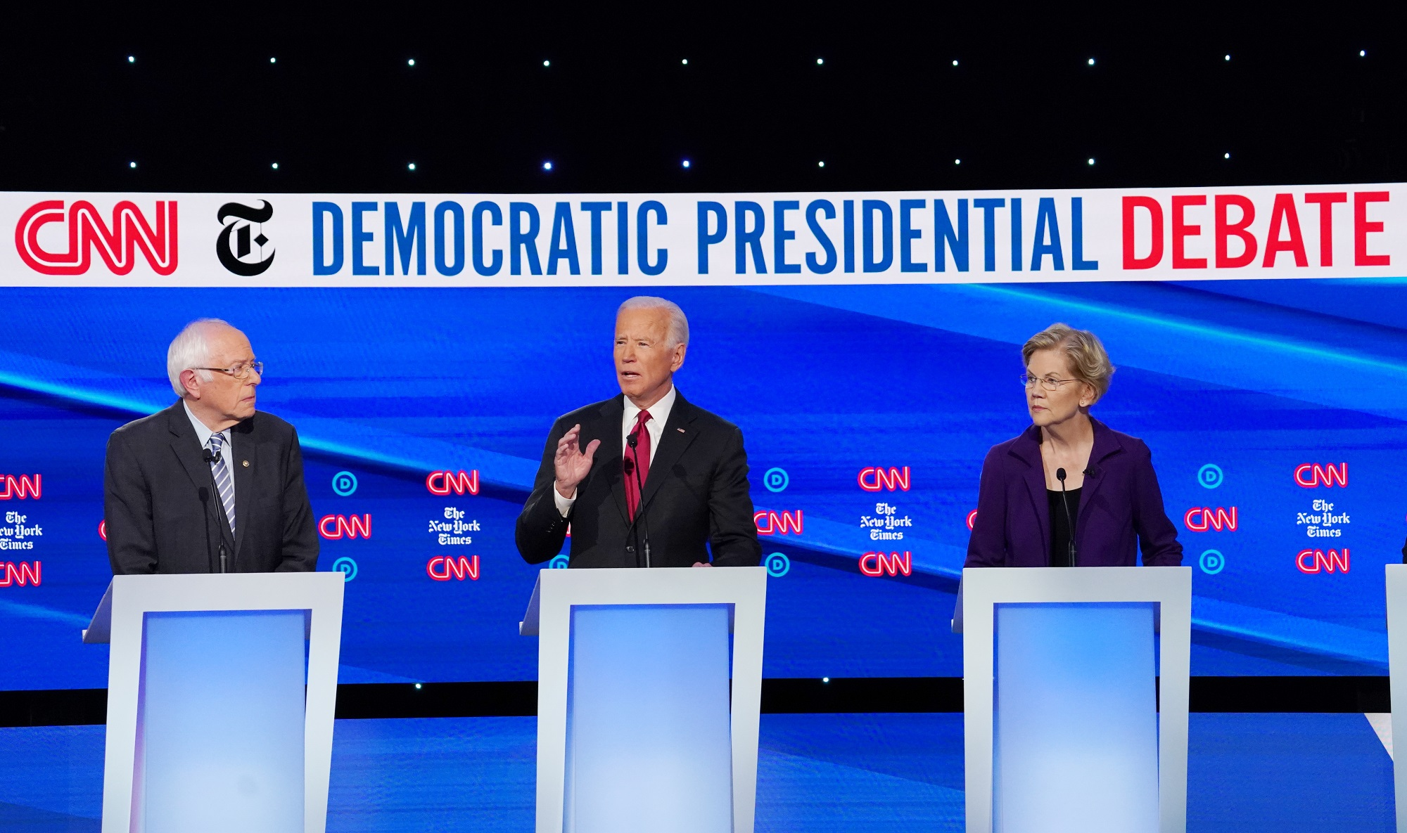 Poll: Biden's Lead in Democratic Primary Dramatically Increases