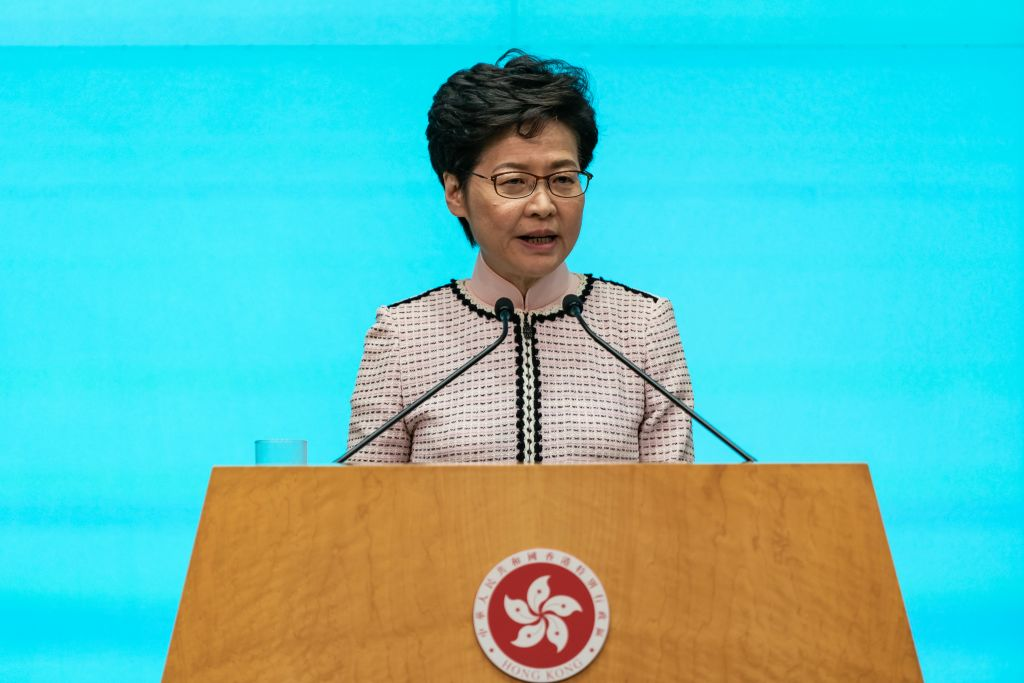 Hong Kong Leader's Annual Policy Address Met With Criticism, as Organizers Plan More Protests