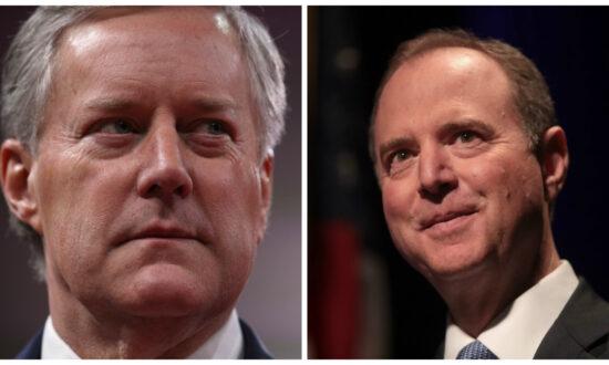Mark Meadows Demands Adam Schiff Call Whistleblower to Testify to Congress