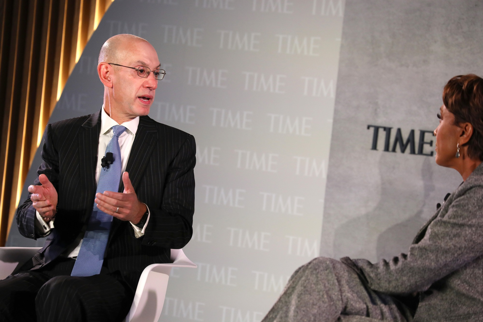 NBA Commissioner Says Chinese Government Pressured League to Fire Executive Over Hong Kong Tweet