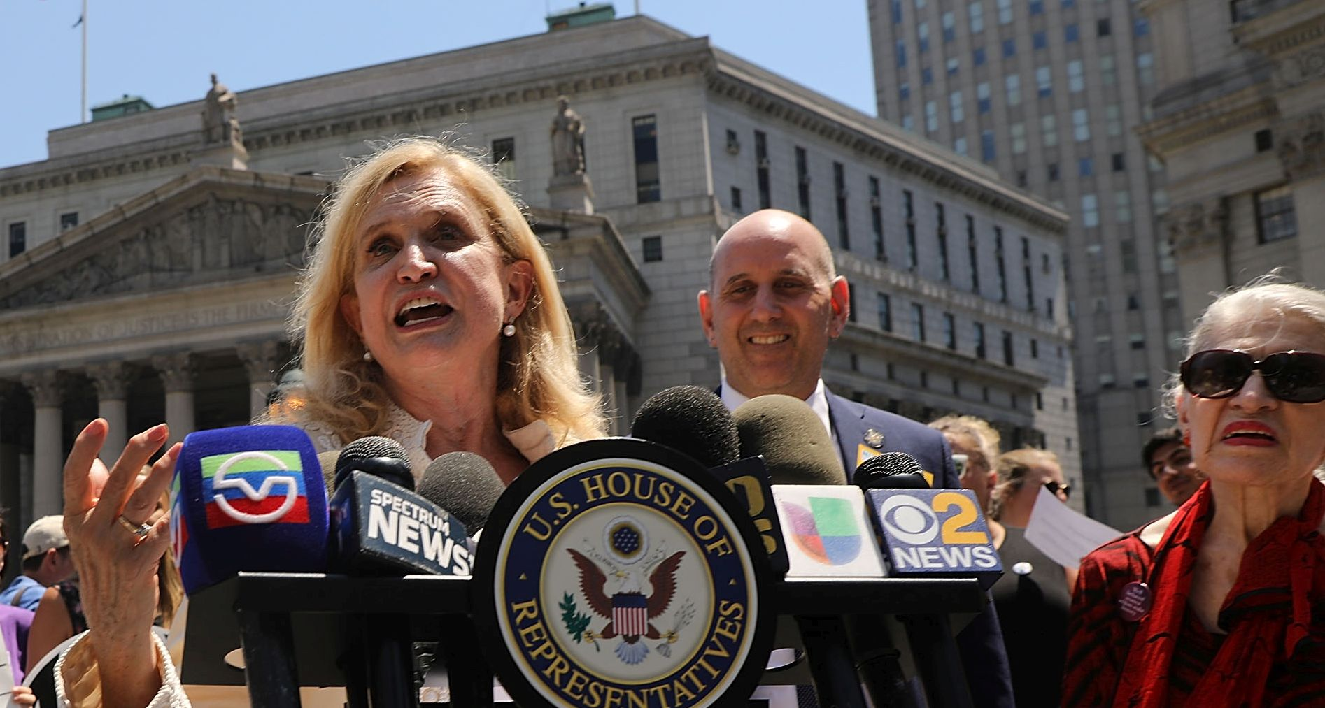 Rep. Carolyn Maloney to Take Over Oversight Committee After Cummings' Death: Reports