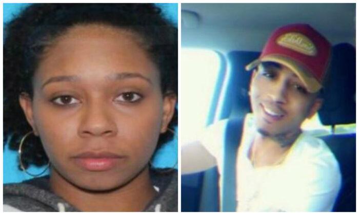 Tenna Dixon, 28, and her boyfriend Derek Young, 29, in file photographs. (Mississippi Bureau of Investigation)