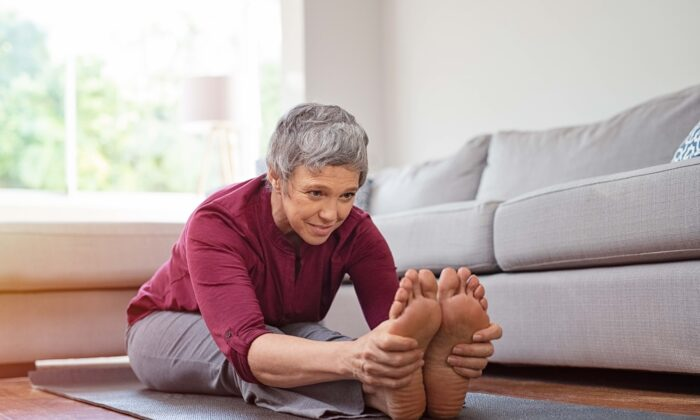 Keeping your body limber will help it keep you moving. (Rido/Shutterstock)