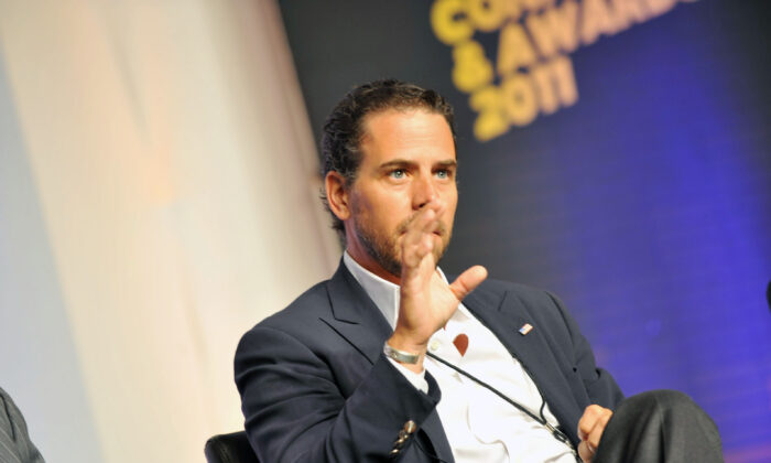 Hunter Biden in a 2011 file photograph. (Moses Robinson/Getty Images for Usher's New Look Foundation)