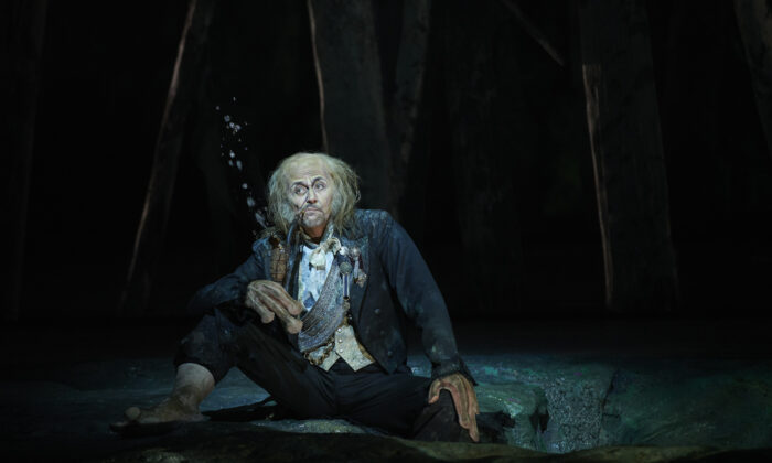 "Stefan Kocan as Vodnik in the Canadian Opera Company's 2019 production of ""Rusalka."" (Michael Cooper)"