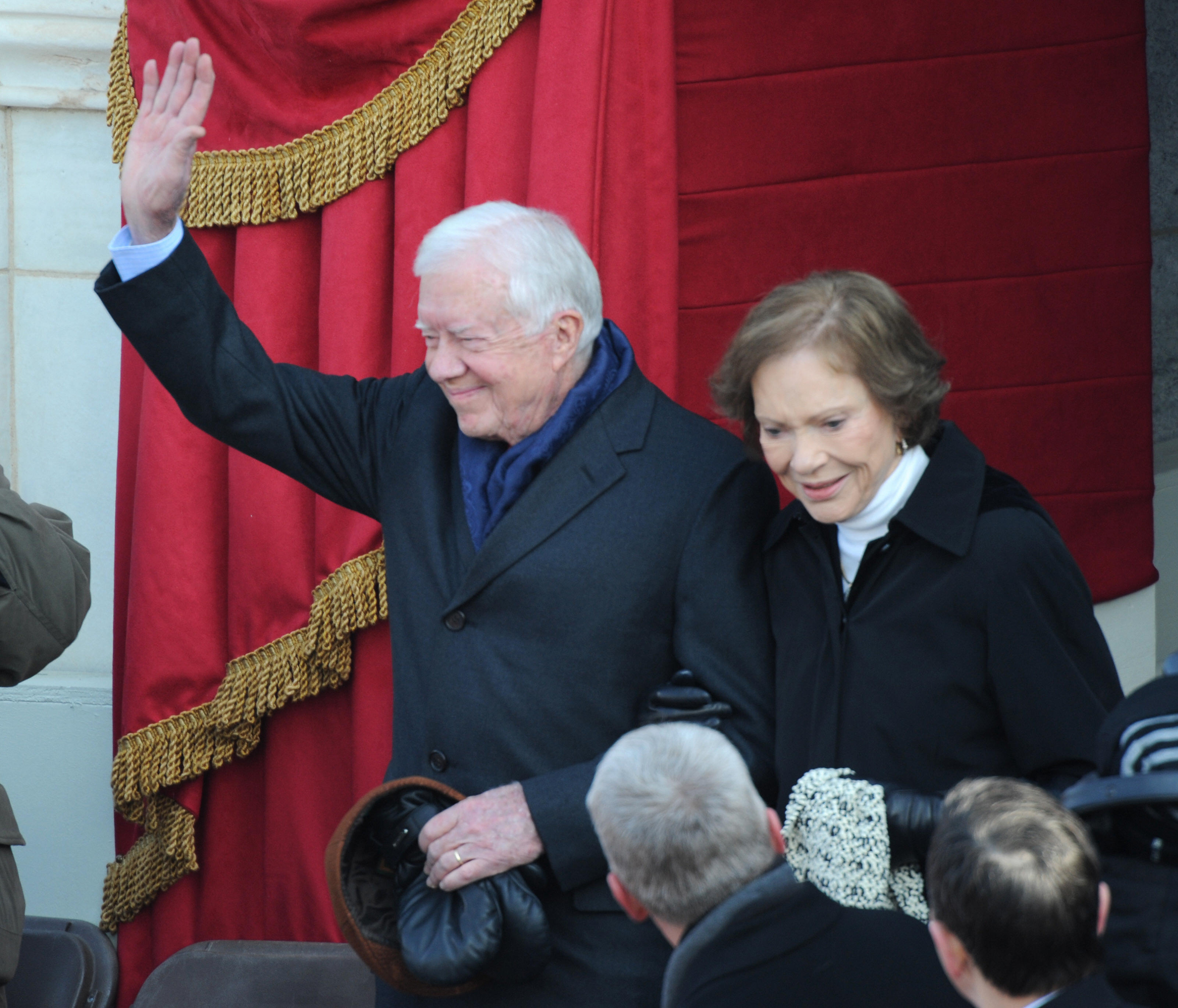 Jimmy Carter and wife Rosalyn