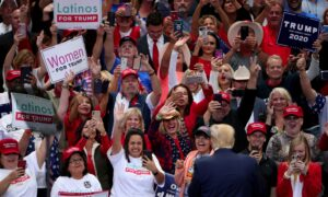 One in Five Dallas Trump Rally Registrants Was Democrat, Campaign Chair Says