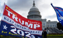 Hundreds Gather to Support President Trump in 'Against Impeachment' Rally