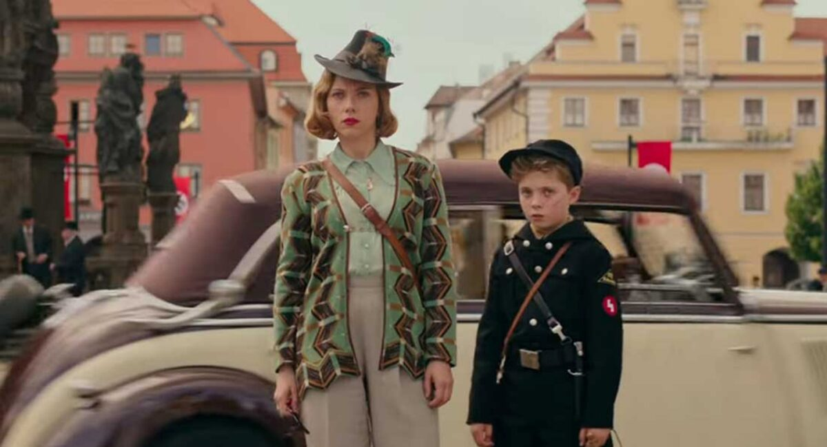 German mother and son in World War II