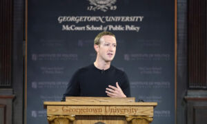 In About-Face, Facebook Founder Mark Zuckerberg Criticizes Chinese Regime for Internet Censorship