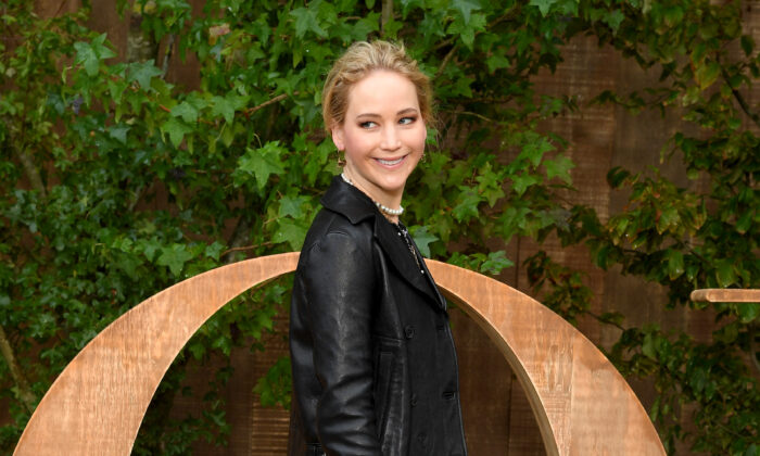 Jennifer Lawrence attends the Christian Dior Womenswear Spring/Summer 2020 show as part of Paris Fashion Week in Paris, France, on Sept. 24, 2019. (Pascal Le Segretain/Getty Images for Dior)