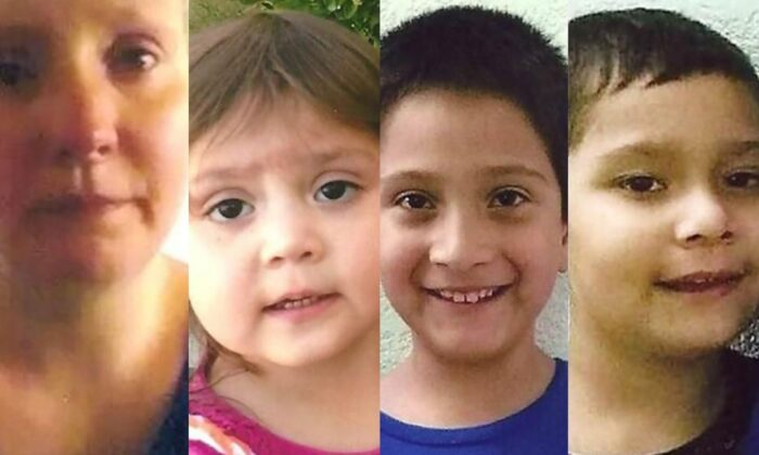 Three missing children from Missouri have been found in Texas with their mother two years later. (National Center for Missing and Exploited Children)