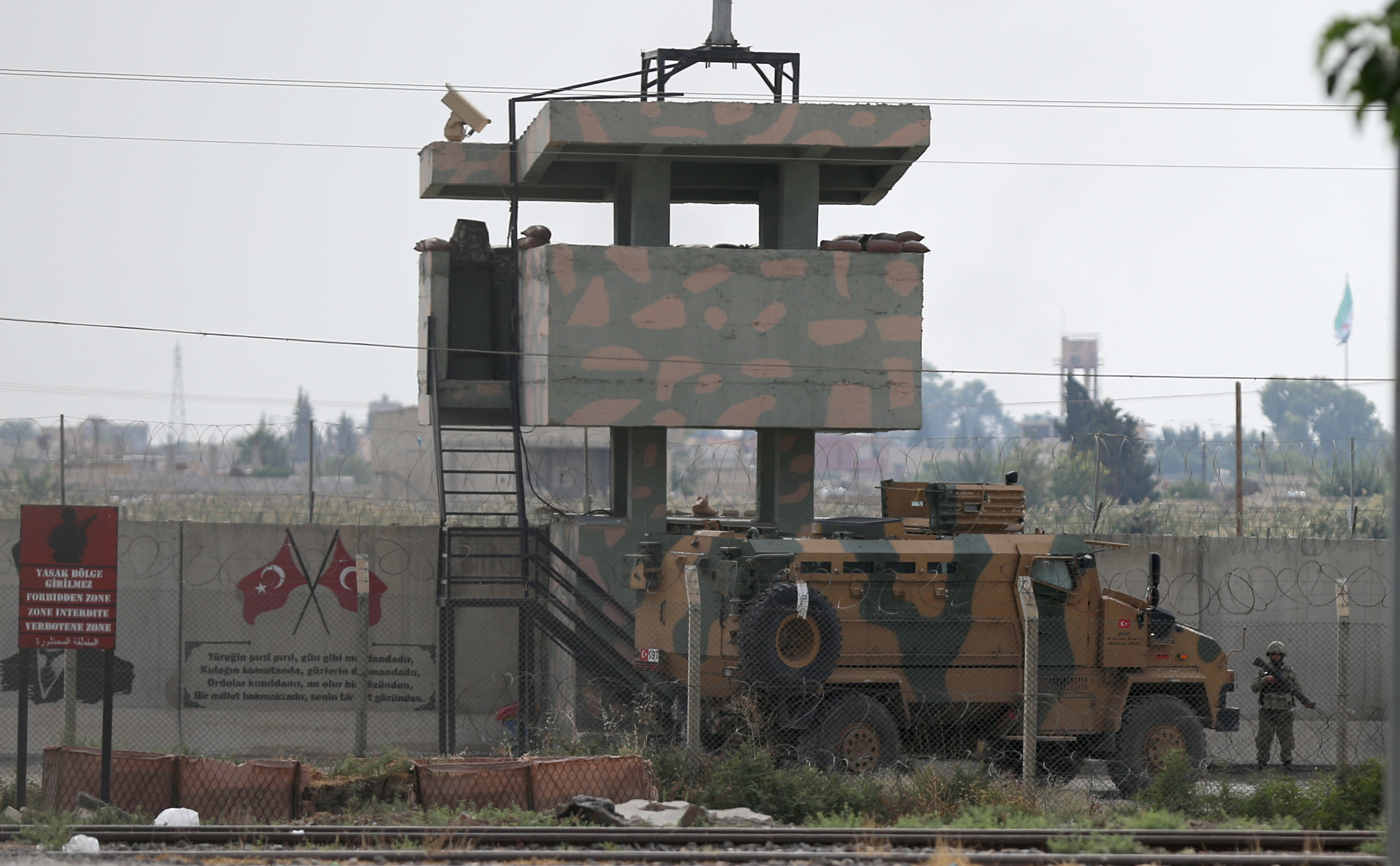 Turkey and Russia to Discuss Removal of Kurdish Militia From Syrian Towns