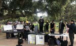 UC Davis Students Rally to Support Hong Kong, Defend Free Speech