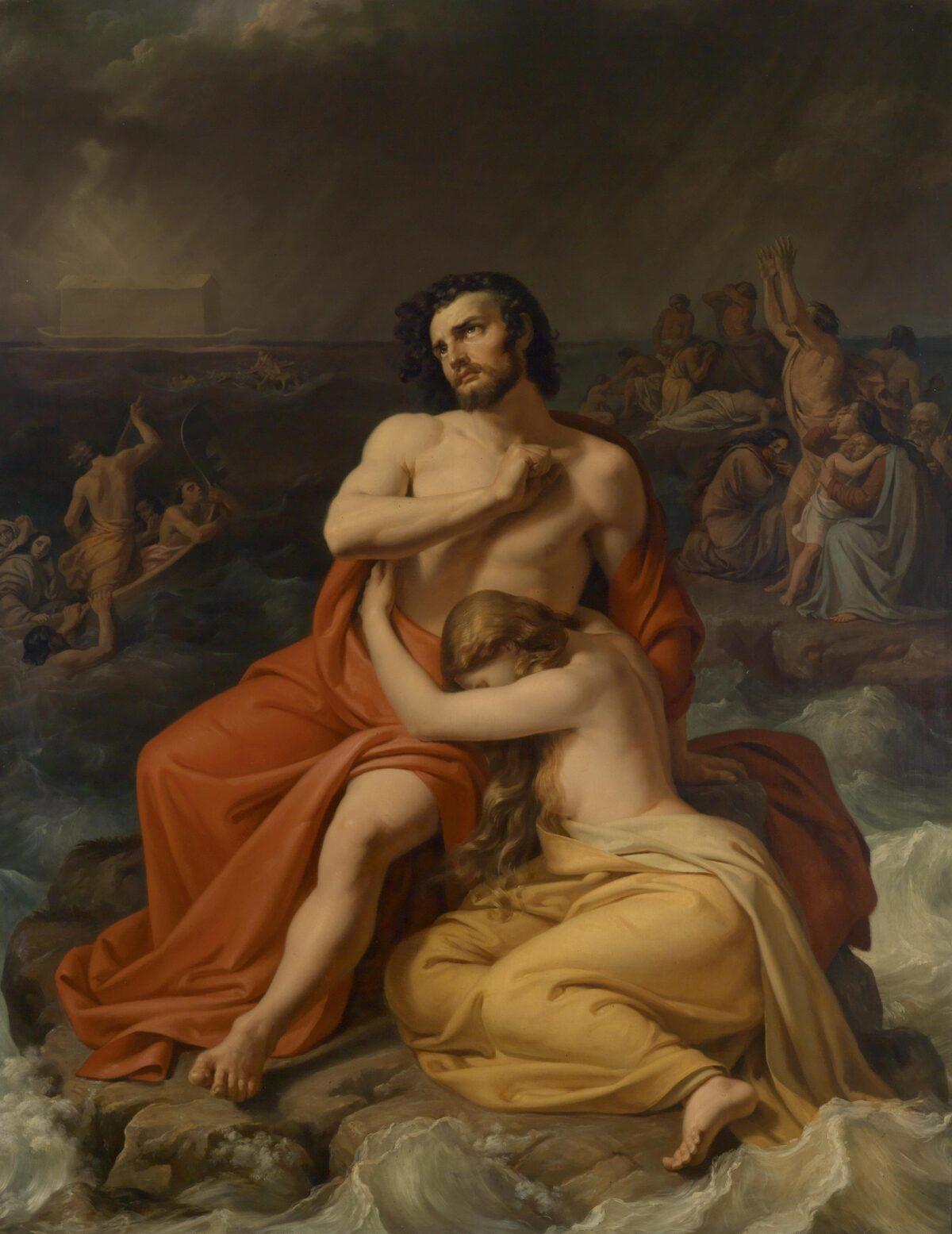 The Flood attributed to Friedrich Matthai