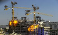 Hotel Collapse: 2 Leaning Cranes Felled 'Exactly' as Planned