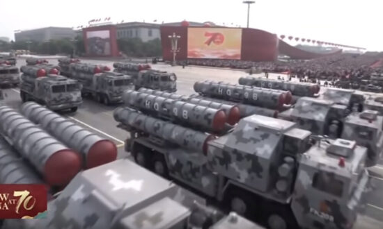 China Reveals 9 New Weapons Systems in Beijing
