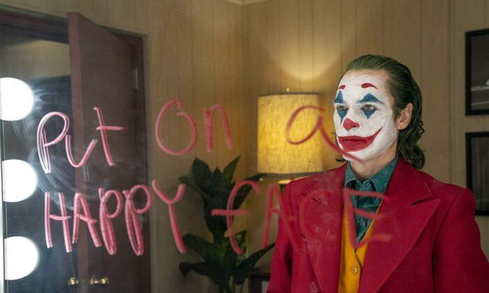 """Joaquin Phoenix in """"Joker."""" (Warner Bros.)"""