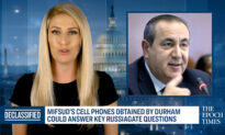 Durham Obtains Mifsud's Cell Phones, What's on Them?