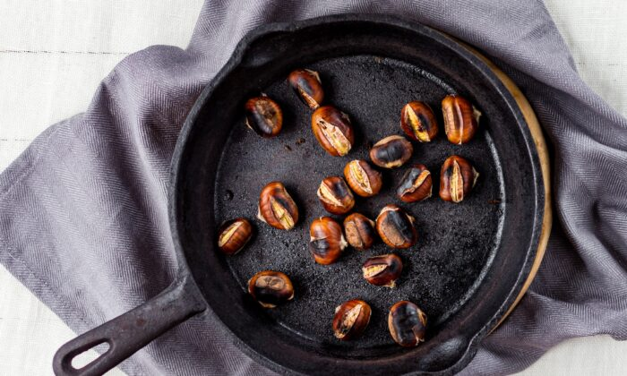Roasted chestnuts. (Giulia Scarpaleggia and Tommaso Galli)